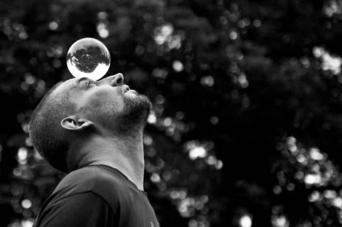 Rendolf - kontaktní žonglér