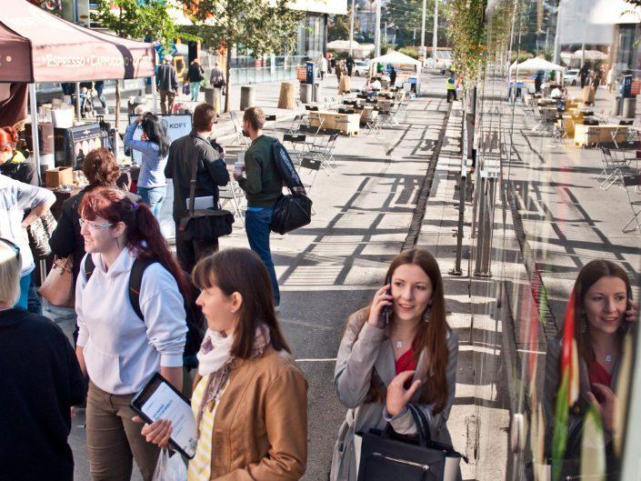 Městské zásahy – Hlavas bez aut